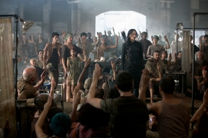 El Sinsajo Katniss lidera la rebelión