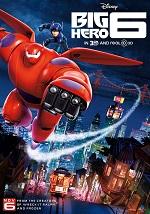 Big Hero 6… La tropa de Hiro yBaymax