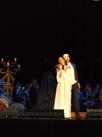El fantasma de la ópera. Enconcierto