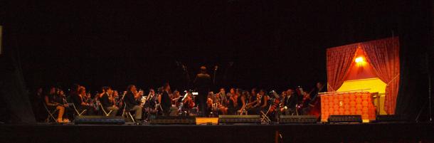 La banda sinfónica de el Liceo de Moguer