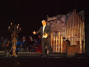 David Romero es El fantasma de la ópera